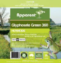 Glyphosate Green 360 1L - Click to enlarge picture.