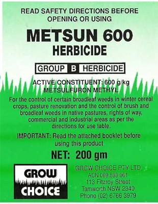 Metsun 600 500g - Click to enlarge picture.